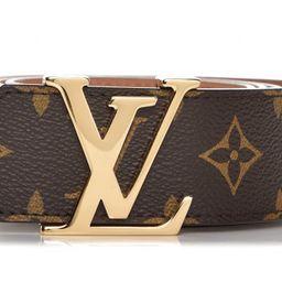 Louis Vuitton Belt Initiales Monogram 1.5W Brown/Brass | StockX