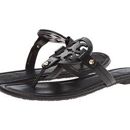 Tory Burch Miller Flip Flop Sandal (Black II) Women's Shoes | Zappos