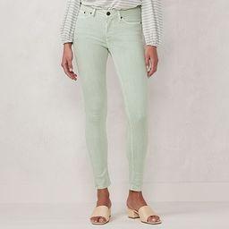 Women's LC Lauren Conrad Rolled-Hem Mid-Rise Skinny Ankle Jeans   Kohl's