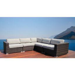 Eldora Patio Sectional with Cushions | Wayfair North America