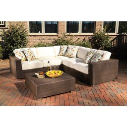 Montecito Sectional Loveseat with Cushions | Wayfair North America