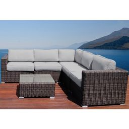 Darvin 6 Piece Sectional Seating Group with Cushions | Wayfair North America