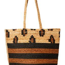 Magid Spring Jute Printed Tote Handbag Purse | Walmart (US)