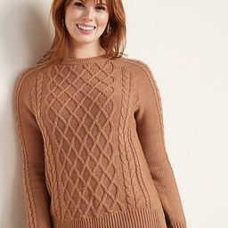 Textured Crew-Neck Sweater for Women | Old Navy (US)