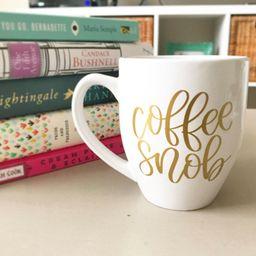 Coffee Snob - Funny Coffee Mug - Coffee Mug - Gift for Her - Coffee Mug with Saying - Coffee Love...   Etsy (US)