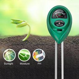 iPower Soil pH Meter, 3-in-1 Soil Test Kit for Moisture, Light & pH for Home and Garden, Lawn, Fa... | Walmart (US)