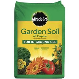 Miracle-Gro Garden Soil All Purpose for In-Ground Use, 0.75 Cu. ft., Feeds up to 3 Months | Walmart (US)