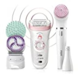 Braun Epilator for Women, Silk-Epil 9 9-985 Facial Hair Removal for Women, Facial Cleansing Brush, W   Amazon (US)