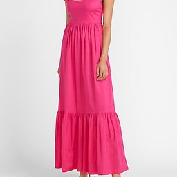 Ruffle Sleeve Maxi Dress   Express