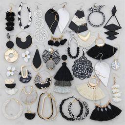Black & White Earrings | Jane