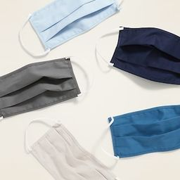 Variety 5-Pack of Triple-Layer Cloth Face Masks for Adults | Old Navy (US)
