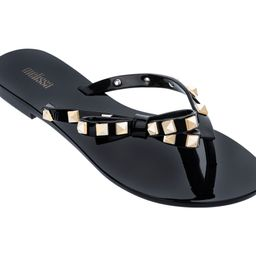 Melissa Thong Sandals with Bow - Harmonic Studs   QVC