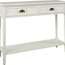 Signature Design by Ashley - Goverton Console Sofa Table - Vintage Casual - White   Amazon (US)