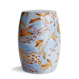 Lingard Accent Stool | Frontgate | Frontgate