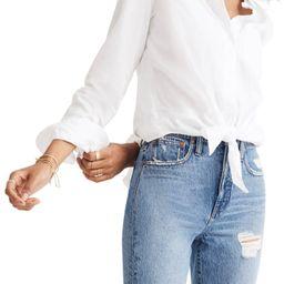 Tie Front Shirt | Nordstrom