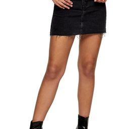 High Waist Denim Miniskirt   Nordstrom