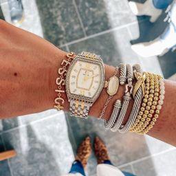 Multi Strand Beaded Adjustable Bracelet   The Sis Kiss