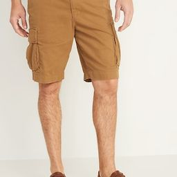 Lived-In Straight Cargo Shorts for Men -- 10-inch inseam | Old Navy (US)