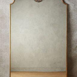 Owl Wooded Manor Mirror   Anthropologie (UK & EU)
