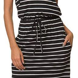 Simier Fariry Women's Modest Work Casual Midi Dress with Pockets | Amazon (US)