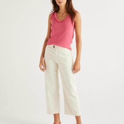 Crop Wide Leg Jeans   Boden (UK)
