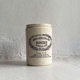 1lb Antique James Keiller Dundee Marmalade White Ironstone 1lb Jar London England 1880s | Etsy (US)