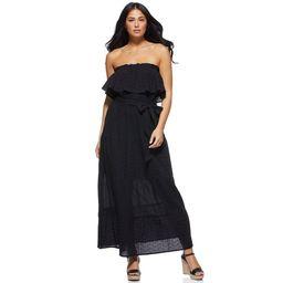 Sofia Jeans by Sofia Vergara Tiered Off-The-Shoulder Maxi Dress, Women's | Walmart (US)