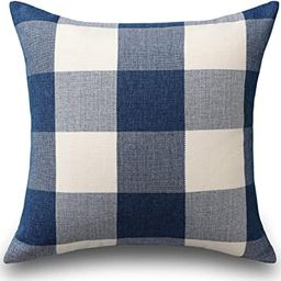 Home Brilliant Buffalo Checkered Plaids Throw Pillow Covers Decorative Euro Pillow Cover for Bed,... | Amazon (US)