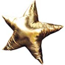"Stephan Baby Stephan Baby 13"" Reversible Star-Shaped Denim Pillow, Indigo/White Stars and White/I... | Amazon (US)"