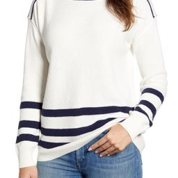 Thermal Stitch Boat Neck Sweater | Nordstrom
