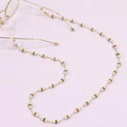 Faux Pearl Beaded Glasses Chain | SHEIN