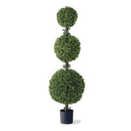 57' Triple Ball Outdoor Boxwood Topiary | Frontgate | Frontgate