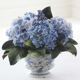 Mixed Hydrangea and Blueberry Chinoiserie | Frontgate | Frontgate