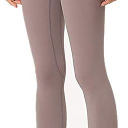 Breathable Yoga Pants with Invisible Pockets Moisture Wicking Fabric High Waisted Yoga Legging | Amazon (US)