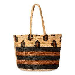 Magid - Magid Spring Jute Printed Tote Handbag Purse - Walmart.com | Walmart (US)
