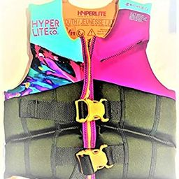 Hyperlite Youth Life Vest 55-88 lbs USCG Approved Purple/Turquoise/Black | Amazon (US)