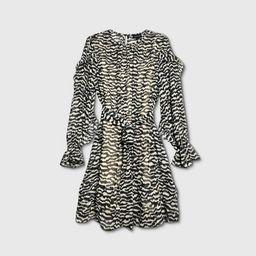 Women's Plus Size Ruffle Long Sleeve Dress - Who What Wear™ | Target