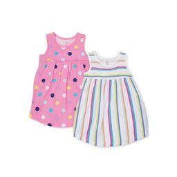 Wonder Nation Baby & Toddler Girl Knit Sleeveless Sun Dresses, 2-pack (12M-5T) | Walmart (US)