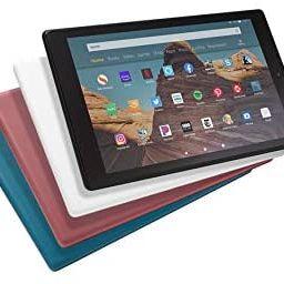 "Fire HD 10 Tablet (10.1"" 1080p full HD display, 32 GB) – White | Amazon (US)"