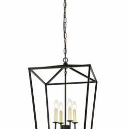 Finnick 4 - Light Lantern Geometric Chandelier   Wayfair North America