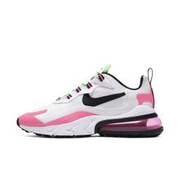 Nike Air Max 270 React Women's Shoe Size 11 (White/Hyper Pink) CJ0619-101 | Nike (US)