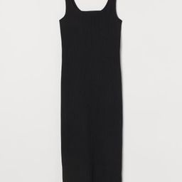 Fitted Calf-length Dress | H&M (US)
