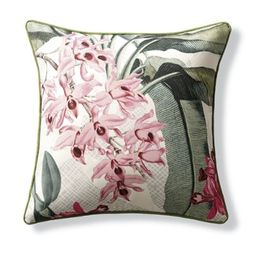New York Botanical Garden Anori Indoor/Outdoor Pillow | Frontgate | Frontgate