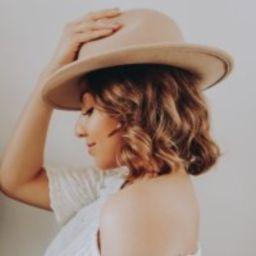 Women's Felt Boater Hat - Universal Thread™ Black   Target