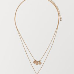 Double-strand Necklace   H&M (US)