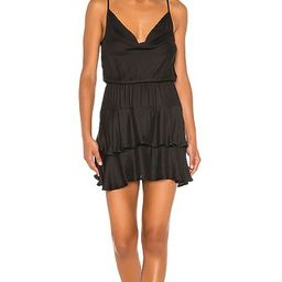BLACK Boho Woven Mini Dress in Black   Revolve Clothing (Global)