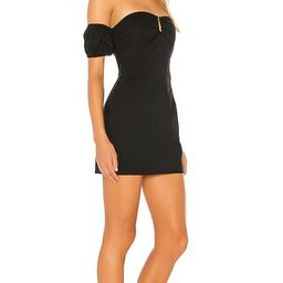 Faith Off Shoulder Dress in Black   Revolve Clothing (Global)