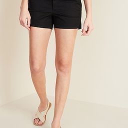 Relaxed Mid-Rise Everyday Shorts for Women - 3.5-inch inseam | Old Navy (US)