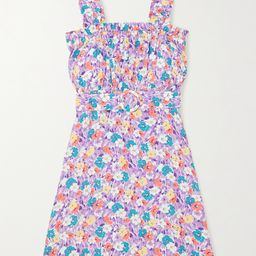 Mid Summer floral-print crepe mini dress | Net-a-Porter (US)