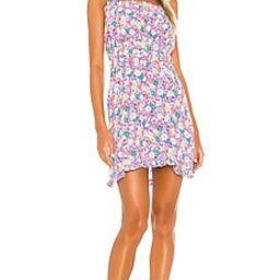 FAITHFULL THE BRAND Mid Summer Mini Dress in Nefeli Floral from Revolve.com | Revolve Clothing (Global)